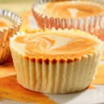 Individual Swirled Pumpkin Cheesecakes recipe