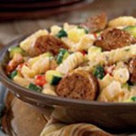 Italian Sausage with Pasta and Herbs recipe