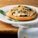 Lentil and Fontina Cheese Pizza Pot Pie recipe