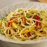 Linguine with Pepato and Peppers recipe