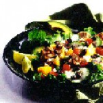 Mango and Black Bean Salad with Grilled Tuna recipe