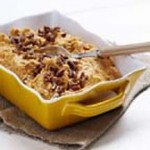 Maple Mashed & Roasted Sweet Potatoes with Sugar & Spice Pecans recipe