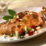 Middle Eastern Chicken with Tomato and Feta recipe