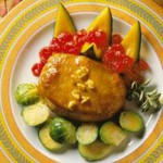 Mustard-Bourbon Pork Chops recipe