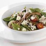Mustard-Crusted Steak Salad with Blue Cheese recipe