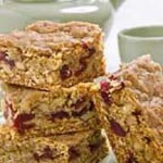 Oatmeal, Walnut, Cranberry Bars recipe