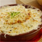 Onion Soup with Two Cheeses recipe