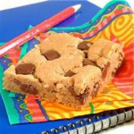 Peanut Butter Chocolate Chunk Bars recipe