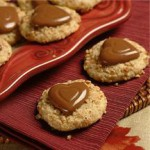 Pecan Chocolate Heart Cookies recipe