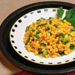 Pine Nuts and Corn Stir-Fry recipe