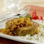 Pineapple Curried Pork Chops recipe
