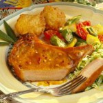 Plantation-Style Grilled Pork Chops recipe