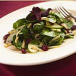 Pleasant Ridge Reserve and Warm Arugula Salad recipe