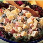 Provolone Potato Salad Blitz recipe