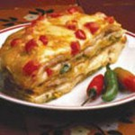 Queso Tortilla Torte recipe