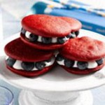 Red, White and Blueberry Mini-Whoopie Pies recipe