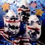 Red, White & Blueberry Parfaits recipe