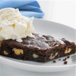 Rich & Chewy Chocolate Brownies recipe