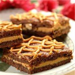 Rich Peanut Butterscotch Brownies recipe