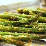 Roasted Asparagus with Pesto & Lemon recipe