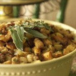 Sausage and Apple Bread Stuffing recipe