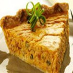 Savory Pumpkin Tart with Aged Cheddar recipe