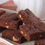 Sensibly Delicious Fudgy Chocolate Brownies recipe