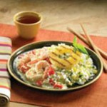 Shrimp Curry with Pineapple-Ginger Rice recipe