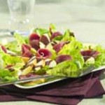 Smoked Poultry Salad with Chocolate Dressing recipe