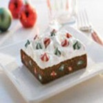 Snow-Topped Holiday SWIRLED™ Brownie Bars recipe