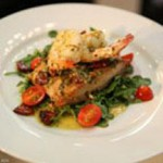 Soy-Glazed Mahi Mahi with Cilantro Butter Shrimp recipe