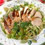 Spicy Asian Coleslaw with Grilled Chicken recipe