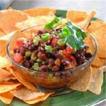 Spicy Black Bean Salsa recipe