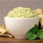 Spicy Cilantro Hummus recipe
