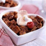 Warm Chocolate Bread Pudding recipe