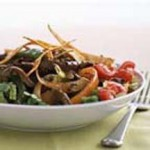 Warm Fajita Salad recipe