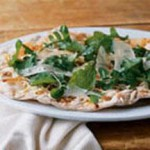 White Bean Hummus and Wisconsin Asiago Pizza recipe