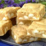 White Chip Island Blondies recipe
