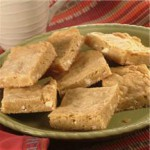 White Chunk Blondies recipe