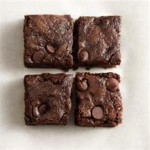 Whole Wheat Dark Chocolate Zucchini Brownies recipe