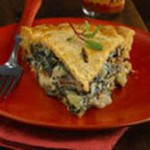 Wild Mushroom Pie with Smoked Baby Swiss Crust recipe