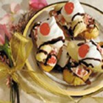 Banana Split French Toast recipe