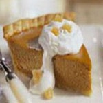 Brandied Pumpkin Pie recipe