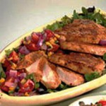 Chipotle Turkey with Sweet Onion Charred Corn Salsa recipe