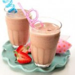 Choco-Strawberry Banana Smoothie recipe