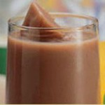 Chocolate Peanut Butter Banana Milkshake recipe