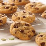 Chunky Chocolate Chip Peanut Butter Cookies recipe