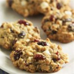 Oatmeal Cranberry White Chocolate Chunk Cookies recipe