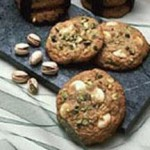 Pistachio White Chocolate Chunk Cookies recipe