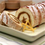 Pumpkin Orange Cake Roll recipe